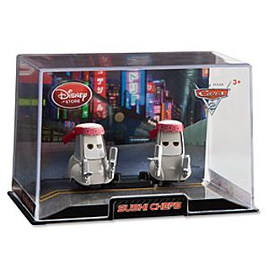 Sushi Chefs Cars 2 Die Cast Car Set -- 2-Pc.