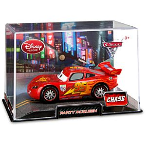 Party Lightning McQueen Cars 2 Die Cast Car -- Chase Edition