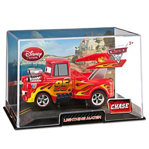Lightning Mater Cars 2 Die Cast Car -- Chase Edition