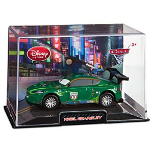 Nigel Gearsley Cars 2 Die Cast Car