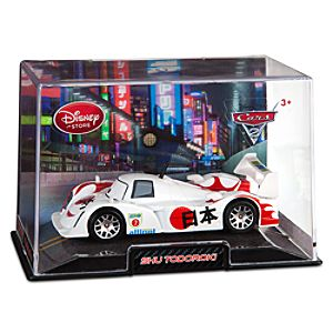 Shu Todoroki Cars 2 Die Cast Car