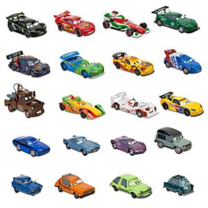 Cars 2 Die Cast Car Set -- 20-Pc.