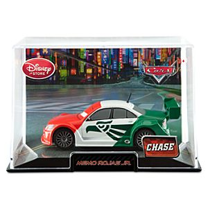 Memo Rojas Jr. Cars 2 Die Cast Car -- Chase Edition