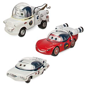 Cars Toon Mater on the Moon Die Cast Set -- 3-Pc.