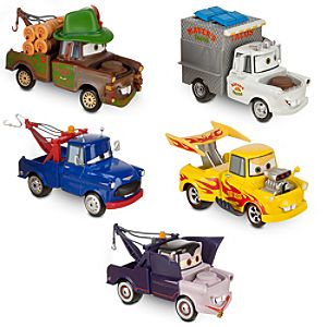 Mater-Rama Cars Die Cast Set -- 5-Pc.