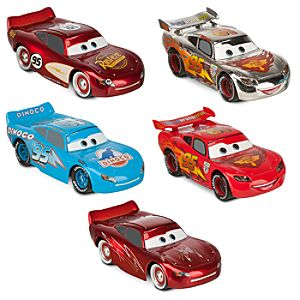 McQueen-O-Rama Cars Die Cast Set -- 5-Pc.