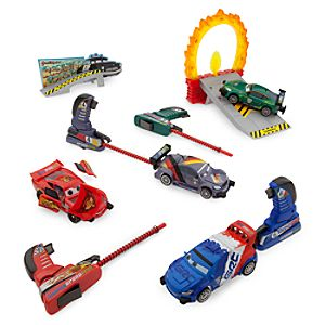Cars Deluxe Stunt Launching Set
