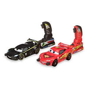 Lightning McQueen and Lewis Hamilton Launching Play Set