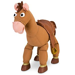Galloping Sound Bullseye Action Figure -- 17'' H
