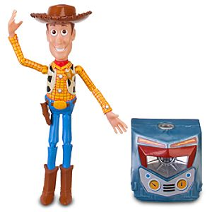 Toy Story Woody Action Figure -- 6 1/2 H -- With Build Sparks Part