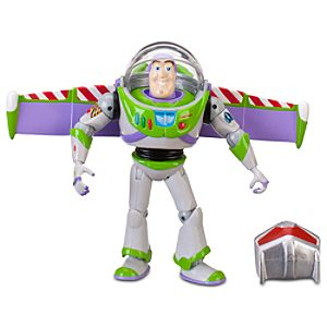 Night Action Toy Story Buzz Lightyear Action Figure -- 7 H -- With Build Sparks Part