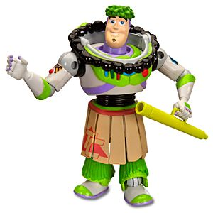 Toy Story Hawaiian Vacation Buzz Lightyear Action Figure -- 6 H -- With Build Trixie Parts