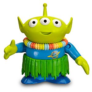 Toy Story Hawaiian Vacation Alien Action Figure -- 3 H -- With Build Trixie Part