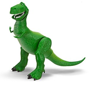 Toy Story Rex Action Figure -- 10 1/2 H -- With Build Chunk Part