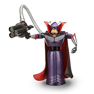 Toy Story Zurg Action Figure -- 7 H -- with Build Chunk Part