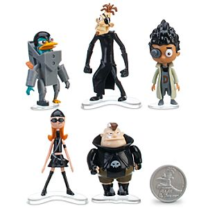 Phineas and Ferb Figurine Set #1 -- 11-Pc.