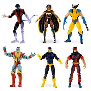 Giant-Size X-Men Action Figure Set -- 4 H -- 6-Pc.