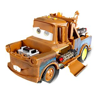 Cars 2 Spy Tow Mater Vehicle