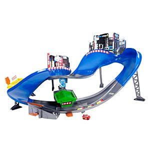 Cars Micro Drifters Motorized Super Speedway Play Set by Mattel