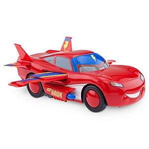 Lightning McQueen Transforming Hawk Vehicle