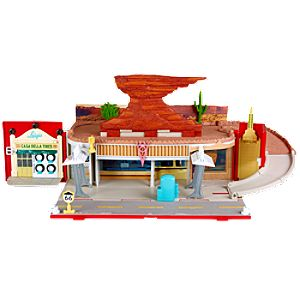 Stow-and-Go Cars 2 Play Set by Mattel