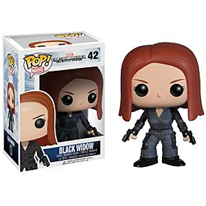 Black Widow Pop! Vinyl Bobble-Head Figure by Funko