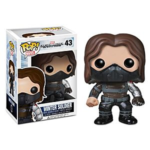 Winter Soldier Unmasked Pop! Vinyl Bobble-Head Figure by Funko