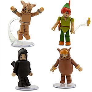 Peter Pan MiniMates - 4-Pack - Set 1
