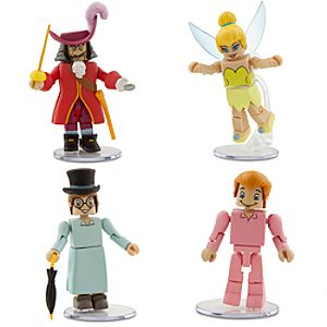 Peter Pan MiniMates - 4-Pack - Set 2