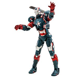 Iron Patriot Action Figure - Marvel Select - 7 1/2
