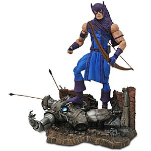 Marvel Select Hawkeye Action Figure -- 7 1/2 H