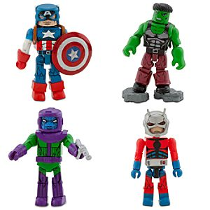 Avengers Minimates Set 1 -- 4-Pc.