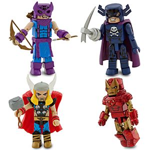 Avengers Minimates Set 2 -- 4-Pc.