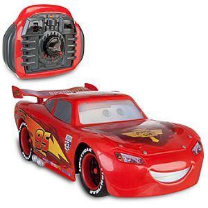 Cars 2 The Real Lightning McQueen Interactive RC Vehicle