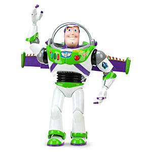 Advanced Talking Buzz Lightyear Action Figure -- 12 H