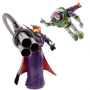 Emperor Zurg and Buzz Lightyear Talking Action Figures Set