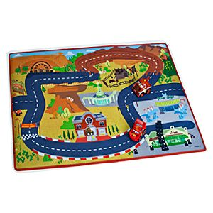 Cars Play Mat & Vehicles Play Set
