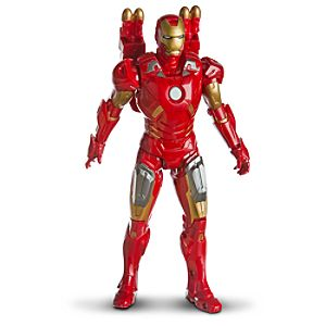 Repulsor Strike Iron Man Mark VII Action Figure by Hasbro -- 10 H