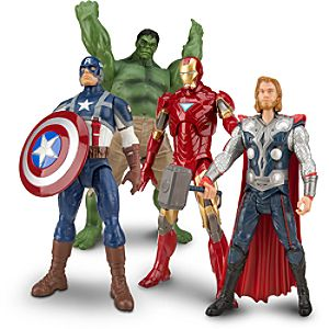The Avengers Action Figure Set -- 4-Pc.
