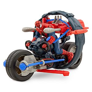 Spider-Man Spider Cycle Play Set