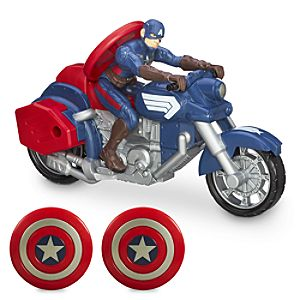 Captain America Shield Blast Motorcycle