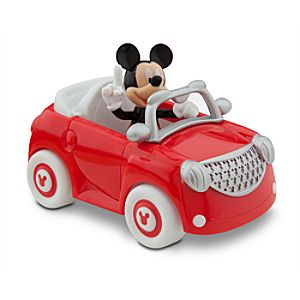 Mickey Mouse Car and Figure
