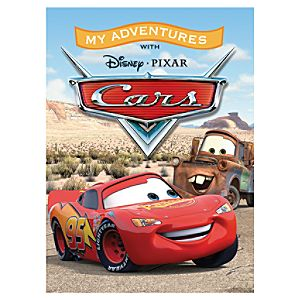 Cars Personalized Book - Large Format