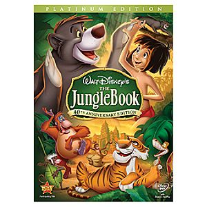 The Jungle Book 40th Anniversary 2-Disc Platinum Edition Widescreen DVD
