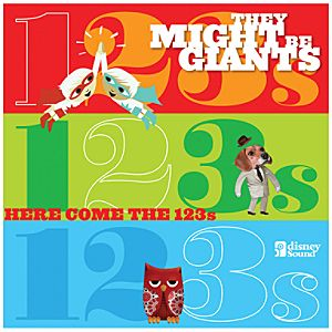 They Might Be Giants: Here Come the 123s 2-Disc CD and DVD