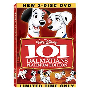 101 Dalmatians: Platinum Edition 2-Disc DVD