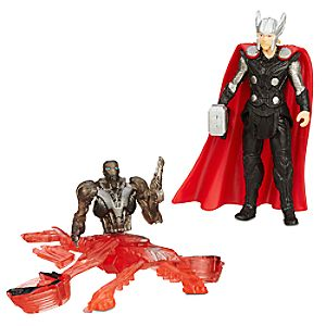 Marvels Avengers: Age of Ultron Action Figure Set - Thor Vs. Sub Ultron 005 - 2 1/2