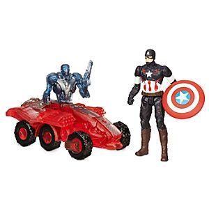 Marvels Avengers: Age of Ultron Action Figure Set - Captain America Vs. Sub-Ultron 002 - 2 1/2