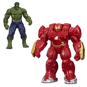 Hulk & Hulkbuster Action Figure Set - Marvels Avengers: Age of Ultron - 3