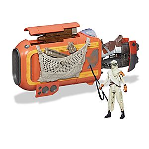 Reys Speeder (Jakku) - Star Wars: The Force Awakens